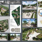 Проектное предложение по благоустройству парка «Комсомольский» в микрорайоне «Белая ромашка» в г. Пятигорске