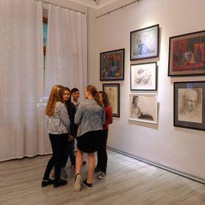 Выставка работ студентов училища