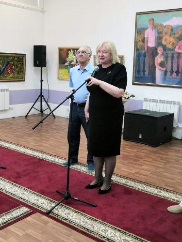 Выступает председатель Думы г. Пятигорска Похилько Л. В.
